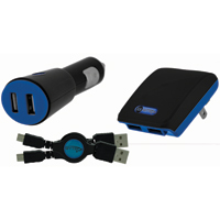 Bytech Micro/Mini Dual USB Home/Car Charger