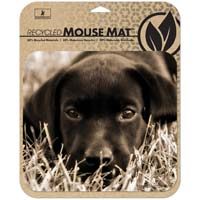 Handstands Deluxe Eco Mouse Pad Puppy