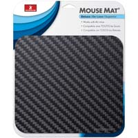 Handstands Deluxe Mouse Pad Geometric Pattern Black