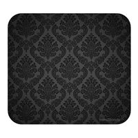 Handstands Deluxe Mouse Pad Damask Black
