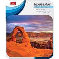 Handstands Deluxe Mouse Pad Desert Scene
