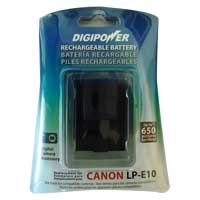 Digipower LP-E10 Replacement Battery for Canon EOS Rebel T3