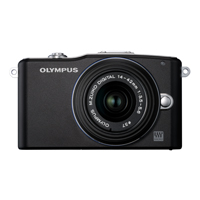 Olympus E-PM1 12.3 Megapixel ILC Digital SLR Camera with 14-42mm Lens - Black