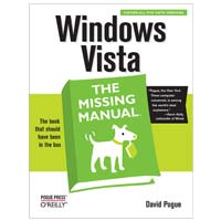 O'Reilly WINDOWS VISTA MISSING MAN