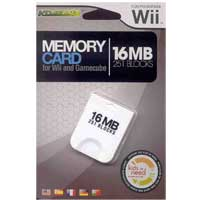 Komodo 16MB Memory Card for Wii/Gamecube