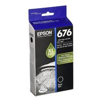 Epson T676XL120 High Yield Black Ink Cartridge