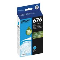 Epson T676XL220 High Yield Cyan Ink Cartridge