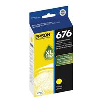 Epson T676XL420 High Yield Yellow Ink Cartridge