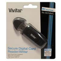 Vivitar SD Flash Media Card Reader