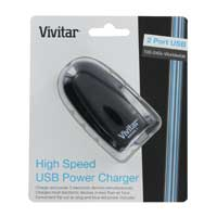 Vivitar USB Power Charger