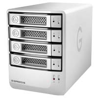 G-Technology G-Speed 8TB Q eSATA/FireWire 800/FireWire 400/USB 2.0 Desktop External Hard Drive