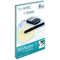 I.R.I.S IRISNotes 1 for Smartphones