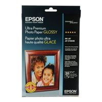 "Epson 5"" x 7"" Ultra Premium Photo Paper Glossy 20 Sheets"