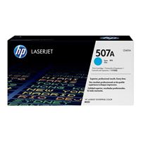 HP HP 507A Cyan LaserJet Toner Cartridge