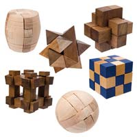 Toysmith Mini Wood Puzzles