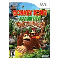 Nintendo Donkey Kong Country Returns (Wii)