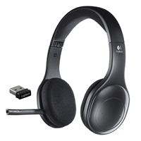 Logitech H800 Wireless Headset - Black