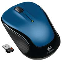 Logitech M325 Wireless Mouse - Blue