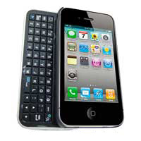 AWA Technology BK102 Slide Bluetooth Keyboard Case for iPhone 4S