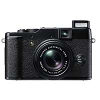 Fuji X10 12 Megapixel Digital Camera - Black