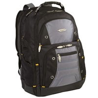 "Targus Drifter II Laptop Backpack Fits Screens up to 16"" Black/Gray"