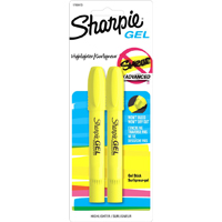 Sharpie Gel Highlighter Yellow 2 Pack