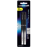 Uniball Insight Rollerball Pen Black 2 Pack