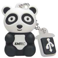 Emtec International M310 Animal Series Panda 4GB USB Flash Drive EKMMD4GM310