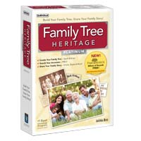 Individual Software Family Tree Heritage Platinum 8 (PC)