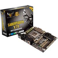 ASUS SABERTOOTH X79 Socket 2011 X79 ATX Intel Motherboard