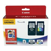Canon PG-240XL/CL-241XL/PP-201 Combo Pack