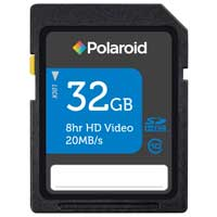Polaroid 32GB Class 10 Secure Digital High Capacity (SDHC) Flash Media Card P-SDHC32G10-EFP