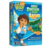 Nova Development Go Diego Go! Bundle: Ultimate Rescue League/Great Dinosaur Rescue & Safari (PC/Mac)