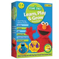 Nova Development Sesame Street Bundle: Learn,Play,Grow/Preschool (PC/Mac)