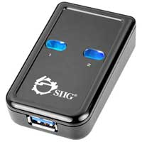 SIIG USB 3.0 Switch 2-to-1