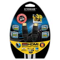 Xtreme Cables 6ft. Swivel 180 Degree HDMI Cable
