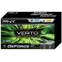 PNY VCGG2101D3XPB NVIDIA GeForce 210 1024MB DDR3 PCIe 2.0 x16 Video Card