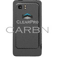 Clear Protector HTC Vivid CARBN Graphite