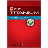 Trend Micro Titanium Maximum Security 3-License User (PC)