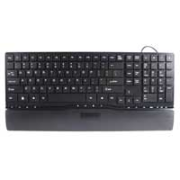 Inland Wired Keyboard USB Black