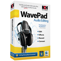 NCH Software WavePad Audio Editing Software (PC/Mac)