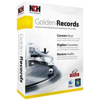 NCH Software Golden Records Analog to CD/MP3 Converter (PC/Mac)
