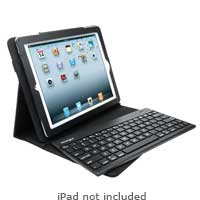 Kensington KeyFolio Pro 2 Removable Keyboard, Case, and Stand for iPad 2 Black