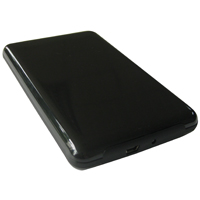 "Inland 2.5"" SATA to High-Speed USB 2.0 Portable External Hard Drive Enclosure"