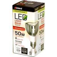 Inland PAR20 8W 370L Dimmable LED Bulb