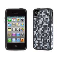 Speck Products FabShell Case for iPhone 4/4S Black/White