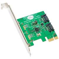 Syba 2-port SATA 6.0Gb/s PCIe Controller Card