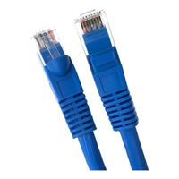 Micro Connectors Cat 6A 5 ft 10 Gigabit Ethernet Cable - Blue