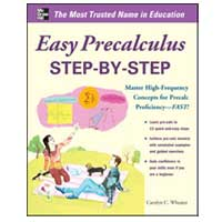 McGraw-Hill EASY PRE-CALCULUS STEP-BY