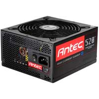 Antec High Current Gamer 520 Watt ATX Modular Power Supply